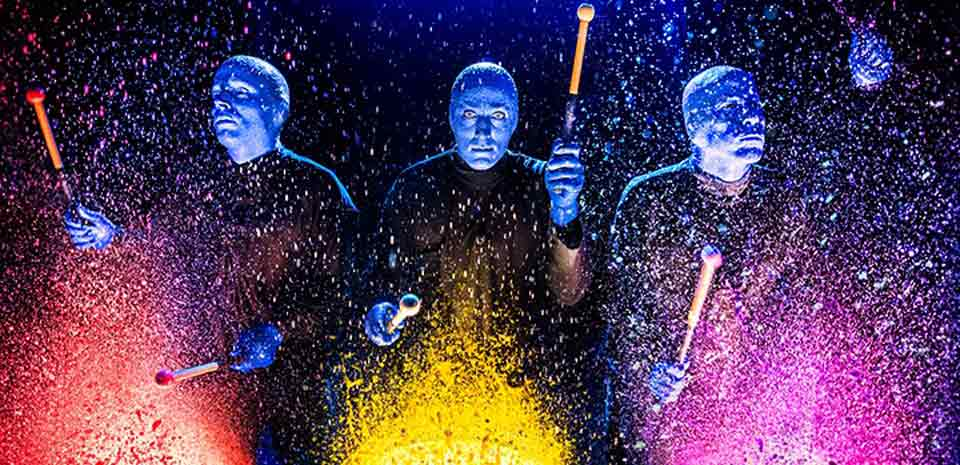 Blue Man Group at Luxor